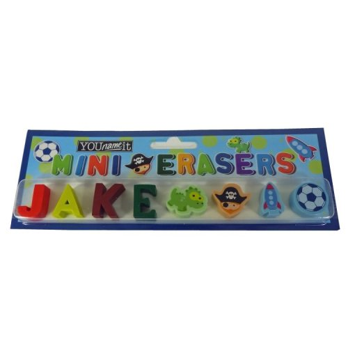 Childrens Mini Erasers - Jake