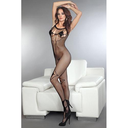 Amkezia - Black S/L Ladies Lingerie Cat suits - Livia Corsetti Fashion