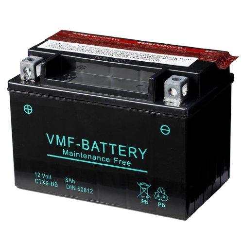 VMF Powersport Liquifix Battery 12 V 8 Ah MF YTX9-BS
