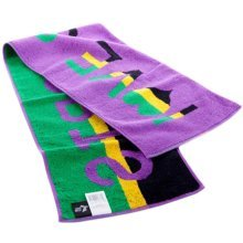 "[PURPLE]I LOVE SPORT Cotton Active-Dry Yoga/ Workout Towel, 9"" x 39.3"""