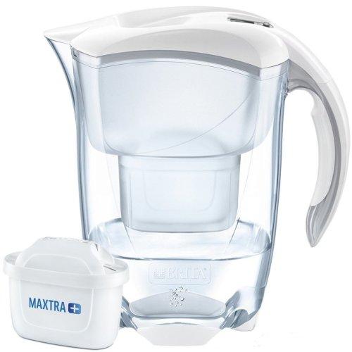 BRITA White Elemaris Cool 2.4L Water Filter Jug & MAXTRA+ Cartridge