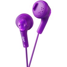 JVC Gumy Bass Boost Stereo Headphones for iPod iPhone MP3 and Smartphone - Grape Violet