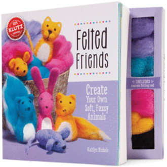 Felted Friends Book Kit-