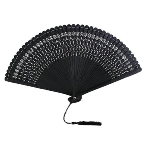 Chinoiserie Classical Bamboo Fan Hand Fan Beautiful Folding Fan Handheld Fan #07