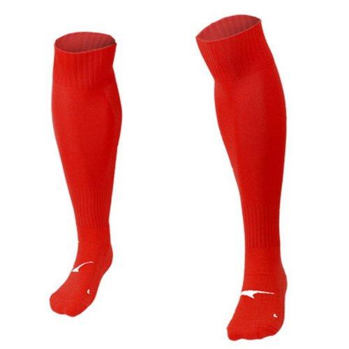 Adult Professional Knee Length Football Socks,Red
