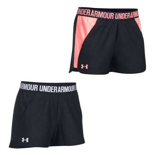 Under Armour Play Up 2.0 Womens Exercise Fitness Short