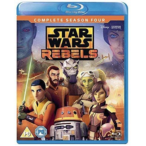 Star Wars Rebels: Season 4 [Blu-ray] [2018] [DVD]
