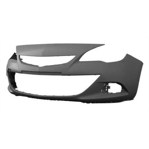 Vauxhall Astra 3 Door Hatchback 2012-  Front Bumper No Wash Jet or Sensor Holes - Primed (Standard Models)