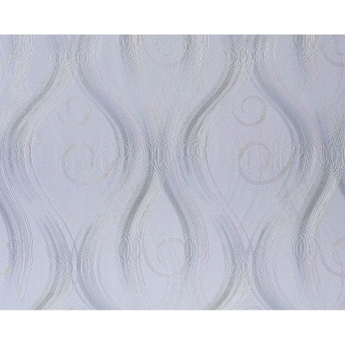 EDEM 954-27 luxury wallpaper non-woven curved lines decor light lilac 114 sq ft
