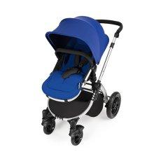 Ickle Bubba Stomp V2 3-in-1 Travel System - Blue/silver