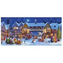 Gibsons Christmas in the Square Super Deluxe Jigsaw Puzzle (636 Pieces)