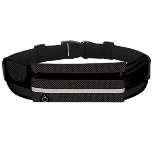 Sporting Goods, Ultralight Waist Purse Breathable Waist Pack Theftproof Black