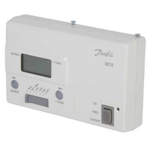 Danfoss SET1E 24Hr Single Channel Electronic Timeswitch