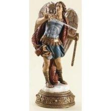 "10.25"" St. Michael Figure Joseph Studio Heavenly Protect by Roman"