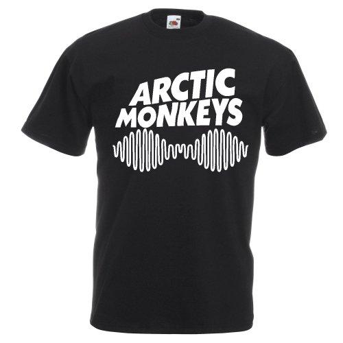 Arctic Monkeys logo Adult T-shirt