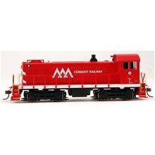 Bachmann Industries Alco S4 Vermont Railway # 6 DCC - Ready Diesel Locomotive - HO Scale