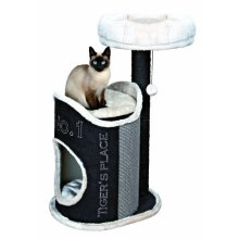 Susan Scratching Post With Plush Bed & Cave 90cm - Susana Tree 90cm -  scratching susana post tree plush bed cave 90 cm