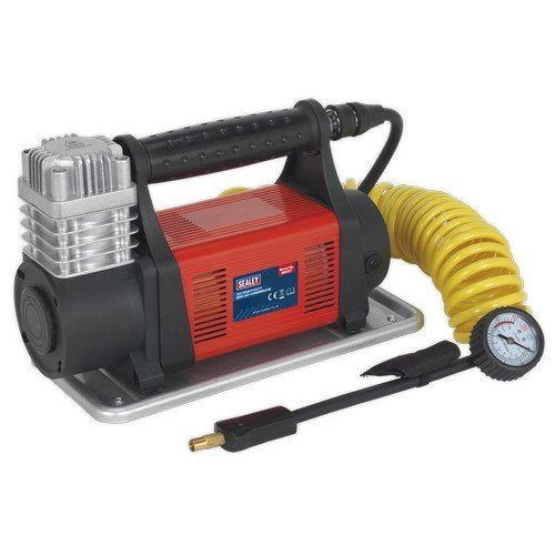 Sealey MAC07 Mini Air Compressor 12V Heavy-Duty