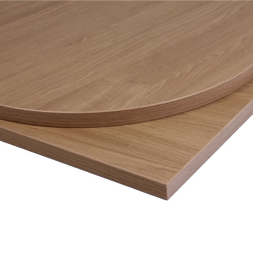 Taybon Laminate Table Top - Oak Round - 600mm