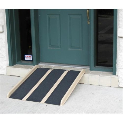 Travel Ramp 3 ft. With Mounting Holes And Extra Rubber Ramp