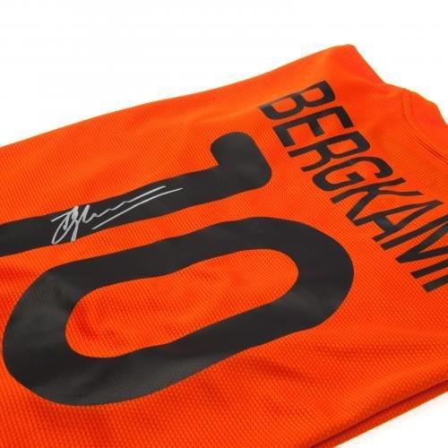 Netherlands Dennis Bergkamp Signed Replica Shirt