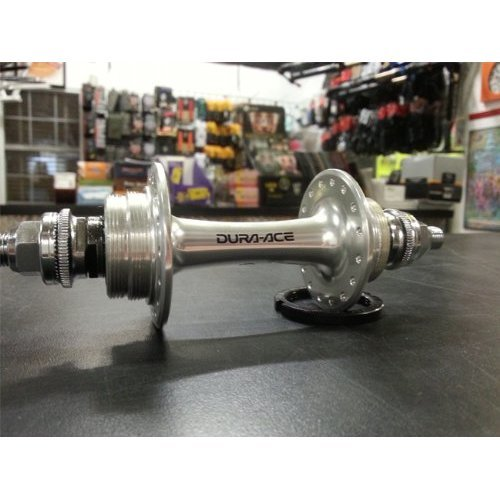 Shimano HB 7710 Dura Ace Rear Track Hub Bolt On Silver 32H