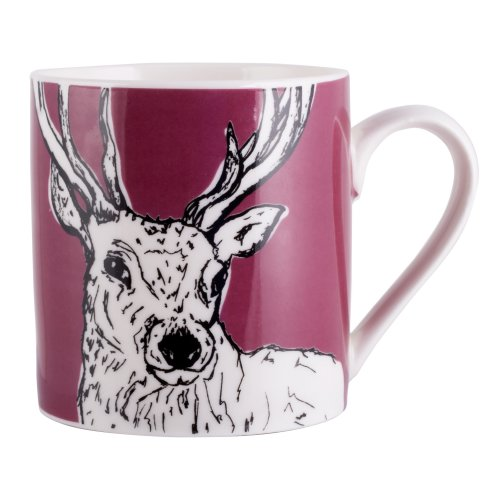 efcd34784e9 Creative Tops Into The Wild Fine China Stag Mug on OnBuy