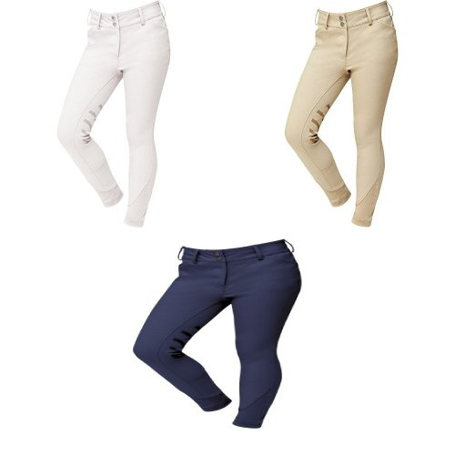 Dublin Childrens/Kids Prime Gel Knee Patch Breeches