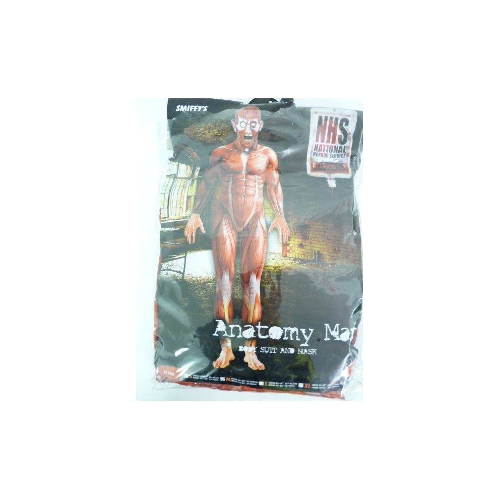 Medium Mens Anatomy Costume Anatomy Costume Man Fancy Dress