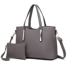 Miss Lulu Women's Shoulder Bag & Mini Pouch