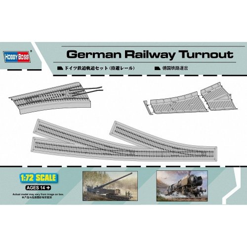 Hbb82909 - Hobbyboss 1:72 - German Railway Turnout