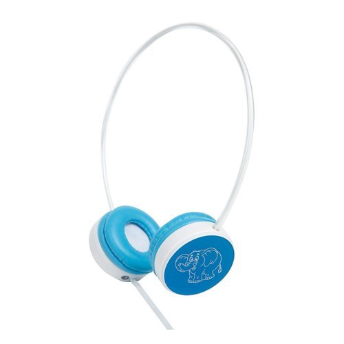 Groov-e My First Headphones for Children with Volume Limiter - Blue Elephant