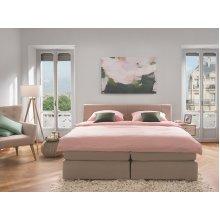 King Size Bed - Pocket Sprung Mattress - Box Spring - 160x200 cm - ADMIRAL