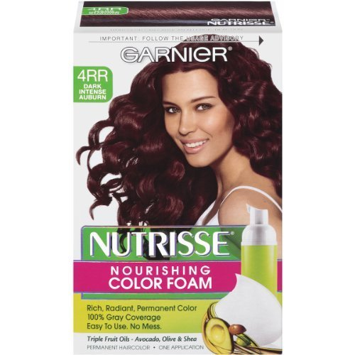 Garnier Nutrisse Nourishing Color Foam Dark Intense Auburn