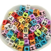 Colorful Acrylic Beads for Making Jewelry Gifts