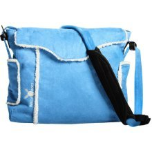 Wallaboo Changing Bag - Soft Blue