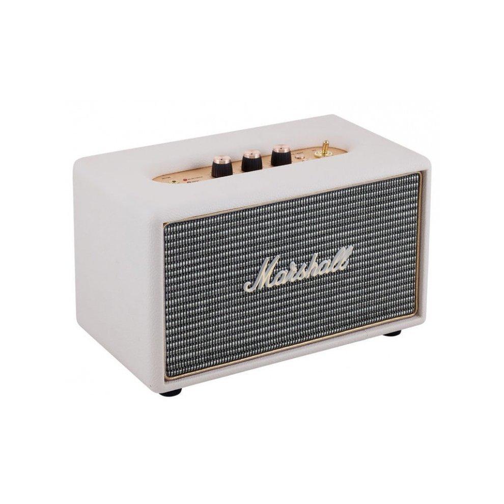 Marshall Bluetooth Speaker Portable: Marshall Acton Bluetooth Speaker Cream On OnBuy