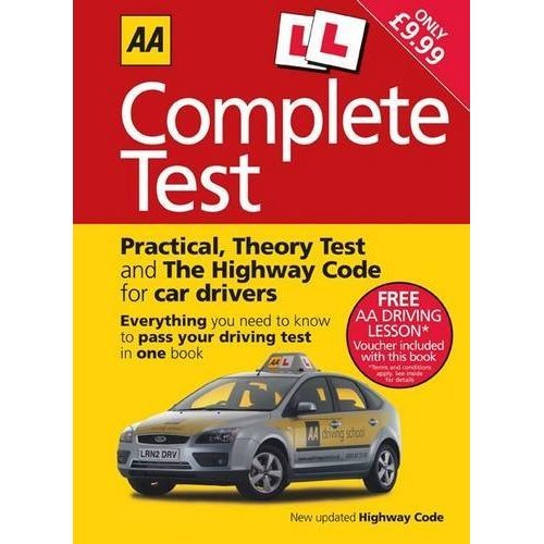 Complete Driving Test Book (Aa Driving Test)