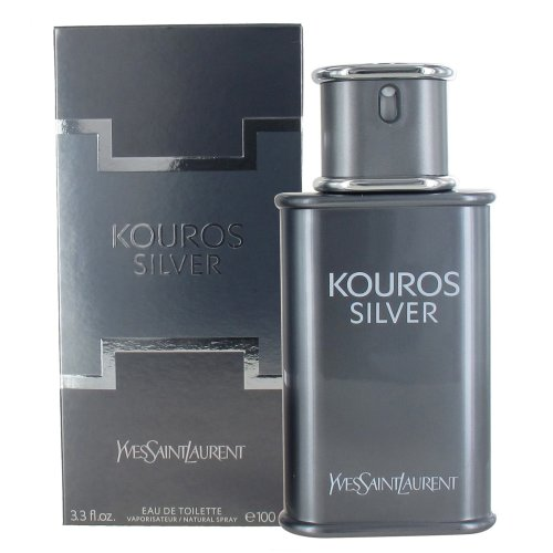 Yves Saint Laurent Kouros Silver 100ml Eau de Toilette Spray