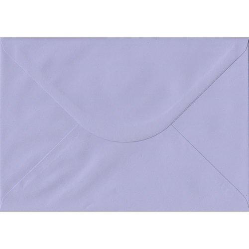 Lilac Gummed C5/A5 Coloured Purple Envelopes. 100gsm FSC Sustainable Paper. 162mm x 229mm. Banker Style Envelope.