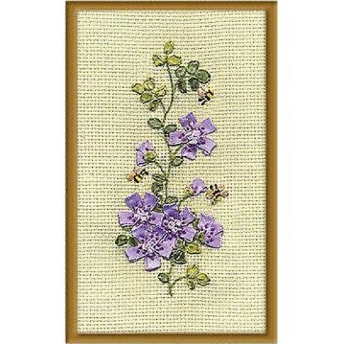 Panna Ribbon Embroidery Kit - C-0913 Bees