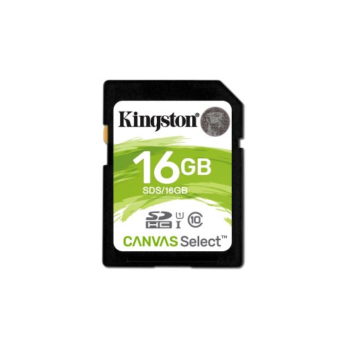 Kingston Technology Canvas Select 16GB SDHC UHS-I Class 10 memory card