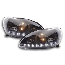 Daylight headlight  Mercedes S-Classe type W220 Year 98-05 black