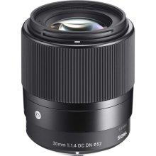 Sigma 30mm f/1.4 DC DN SLR Standard lens Black