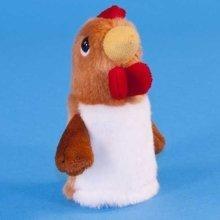 Dowman Cockerel Finger Puppet Soft Toy