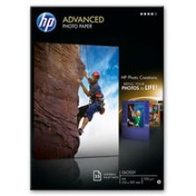 HP Advanced Glossy Photo Paper-25 sht/A4/210 x 297 mm