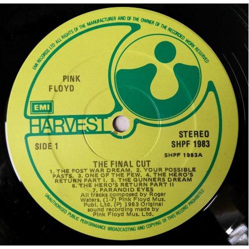 The Final Cut (Ireland 1983) , Pink Floyd