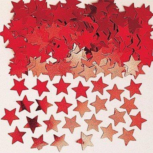 Stardust Red Metallic Confetti 14g -