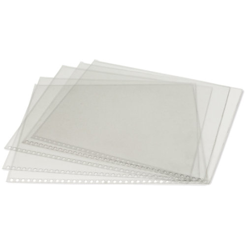 "Clear Protective Sleeves 5/Pkg-14""X17"""