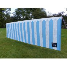 OLPRO Picket Fence 4 Pole Compact Windbreak (Steel poles)